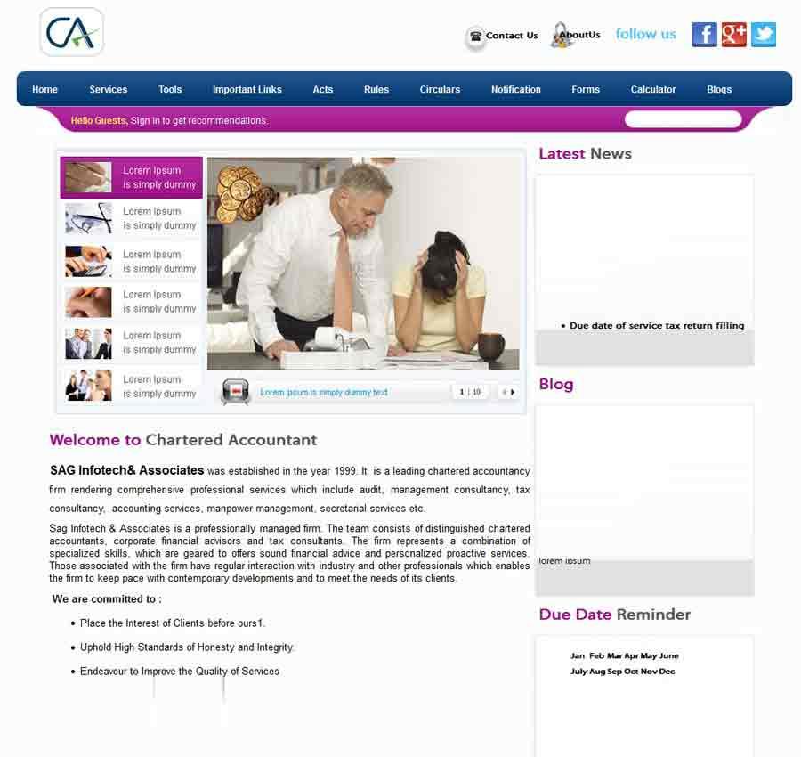Chartered Accountant Theme10
