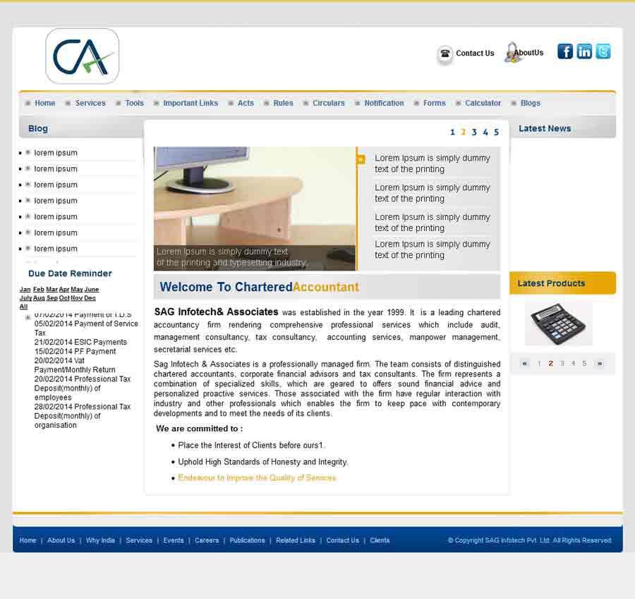 Chartered Accountant Theme11