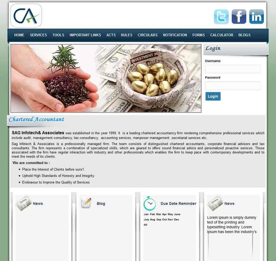 Chartered Accountant Theme14
