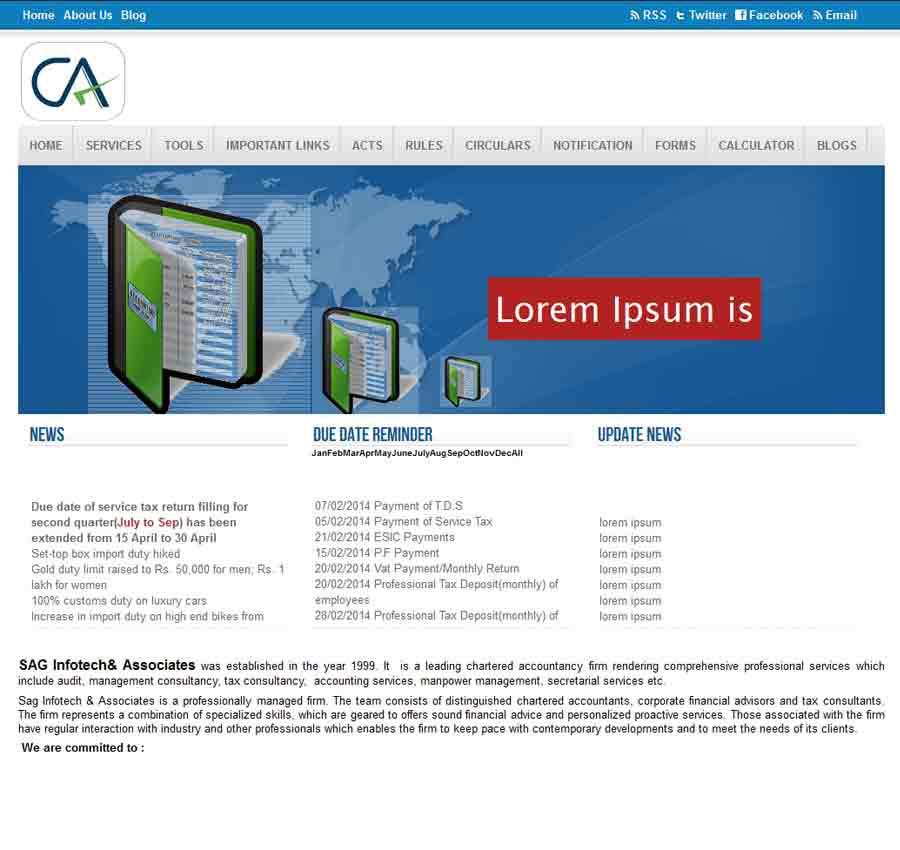 Chartered Accountant Theme15