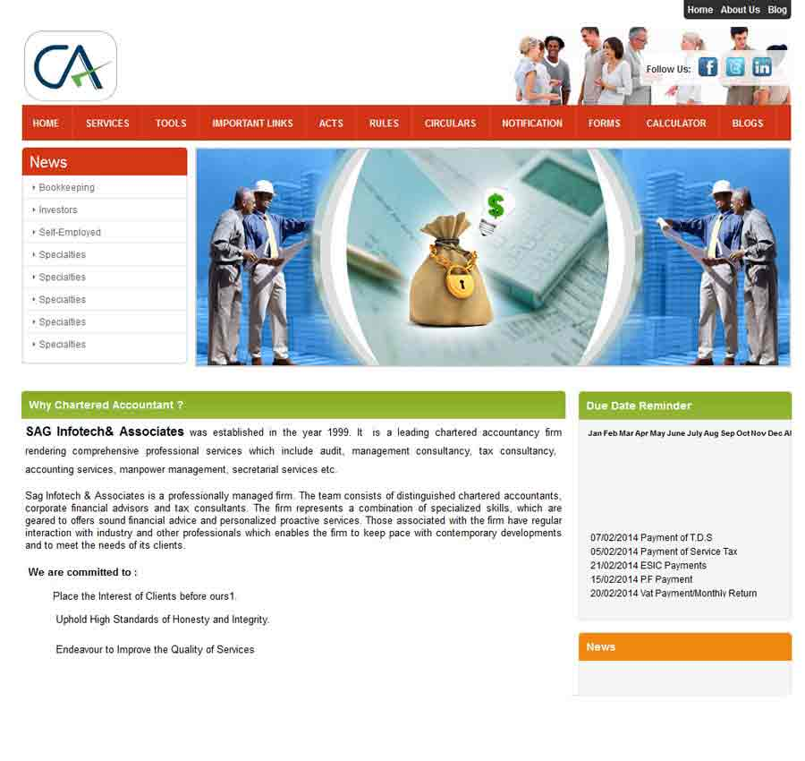 Chartered Accountant Theme17