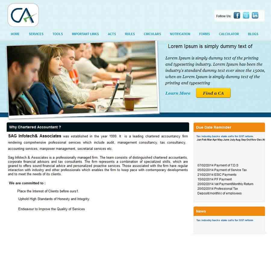 Chartered Accountant Theme18