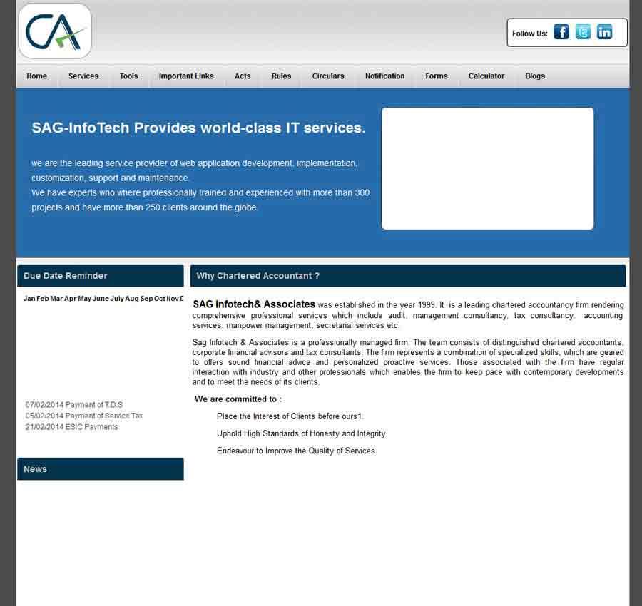 Chartered Accountant Theme46