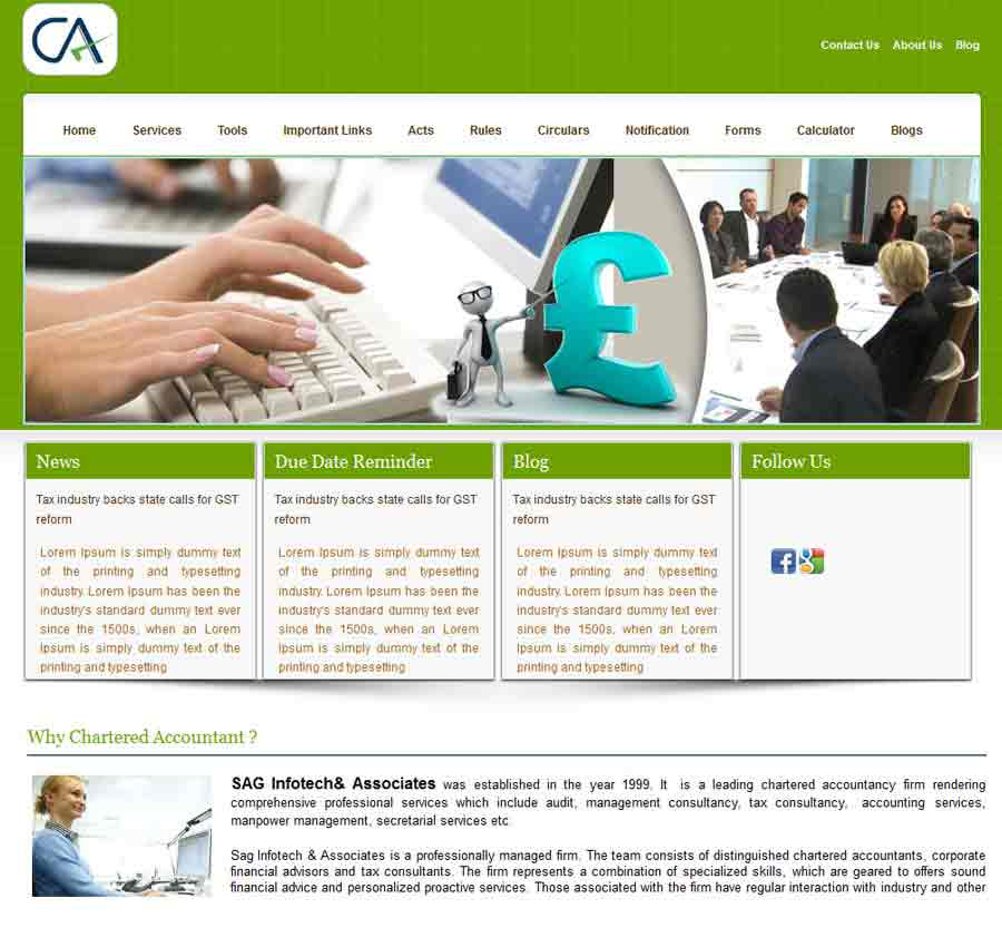 Chartered Accountant Theme30