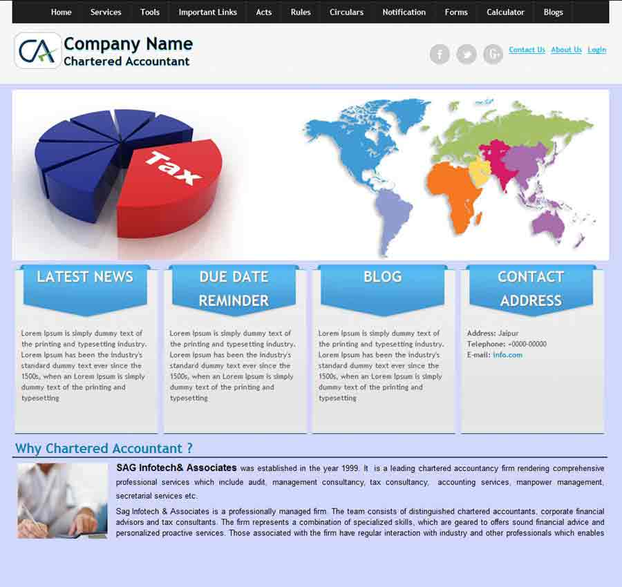 Chartered Accountant Theme8