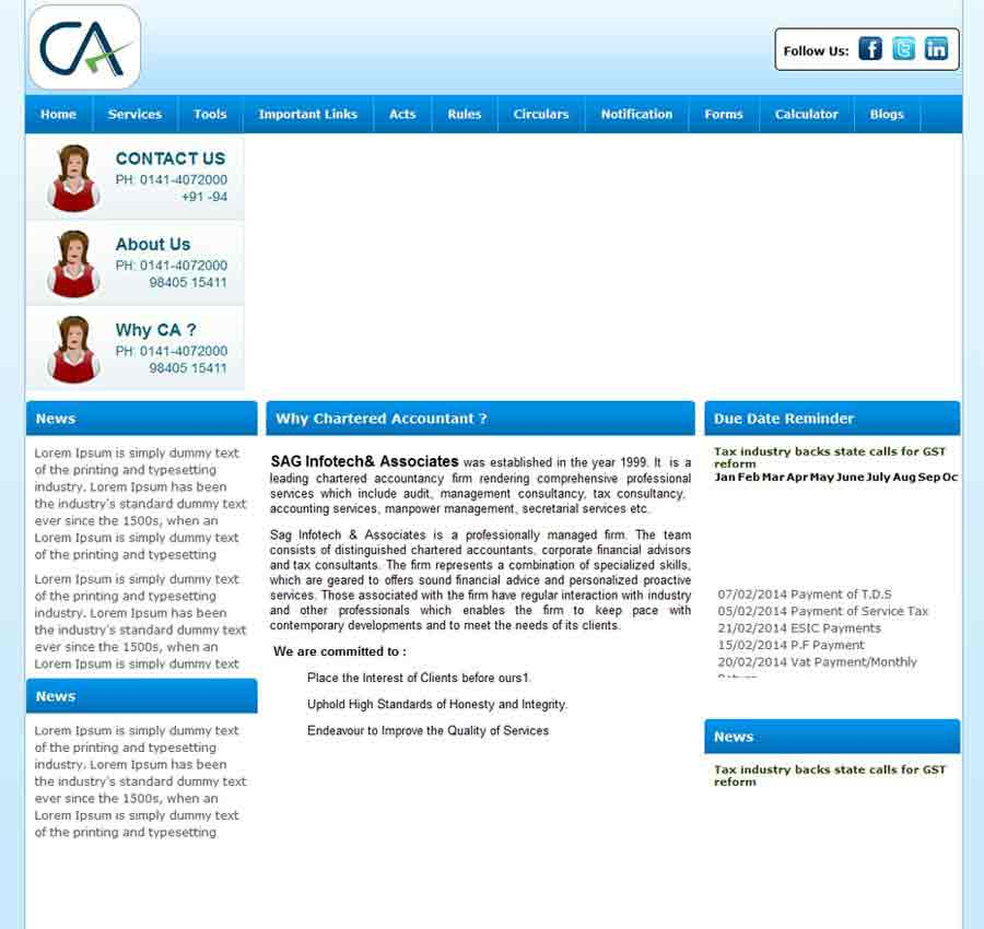 Chartered Accountant Theme48