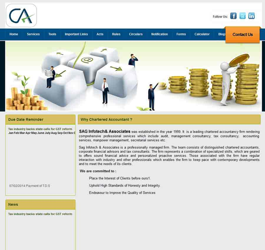 Chartered Accountant Theme53