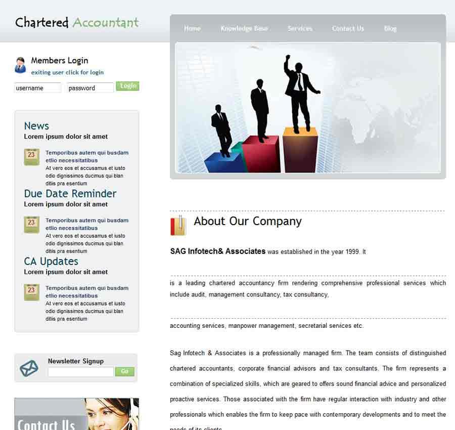 Chartered Accountant Theme51