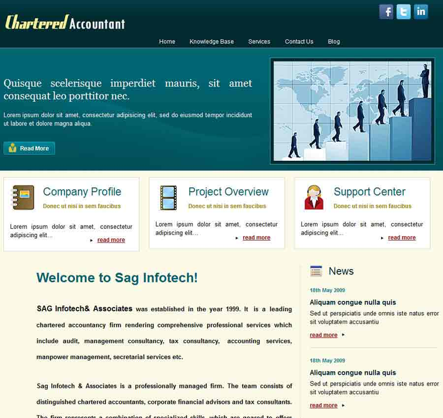 Chartered Accountant Theme5