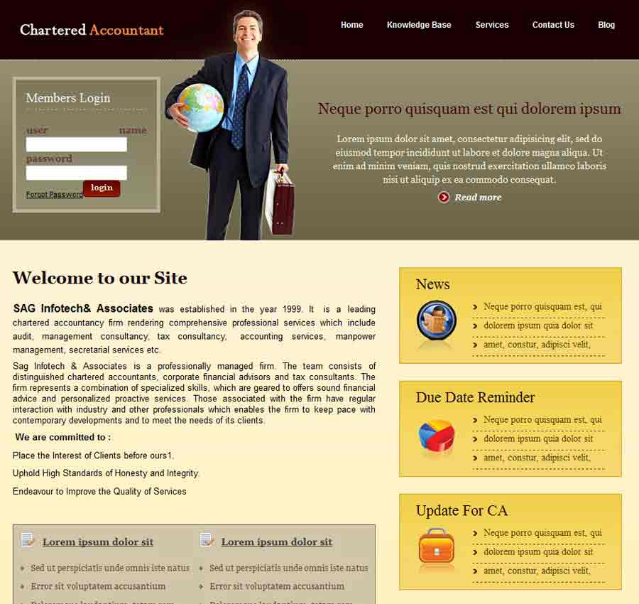 Chartered Accountant Theme6