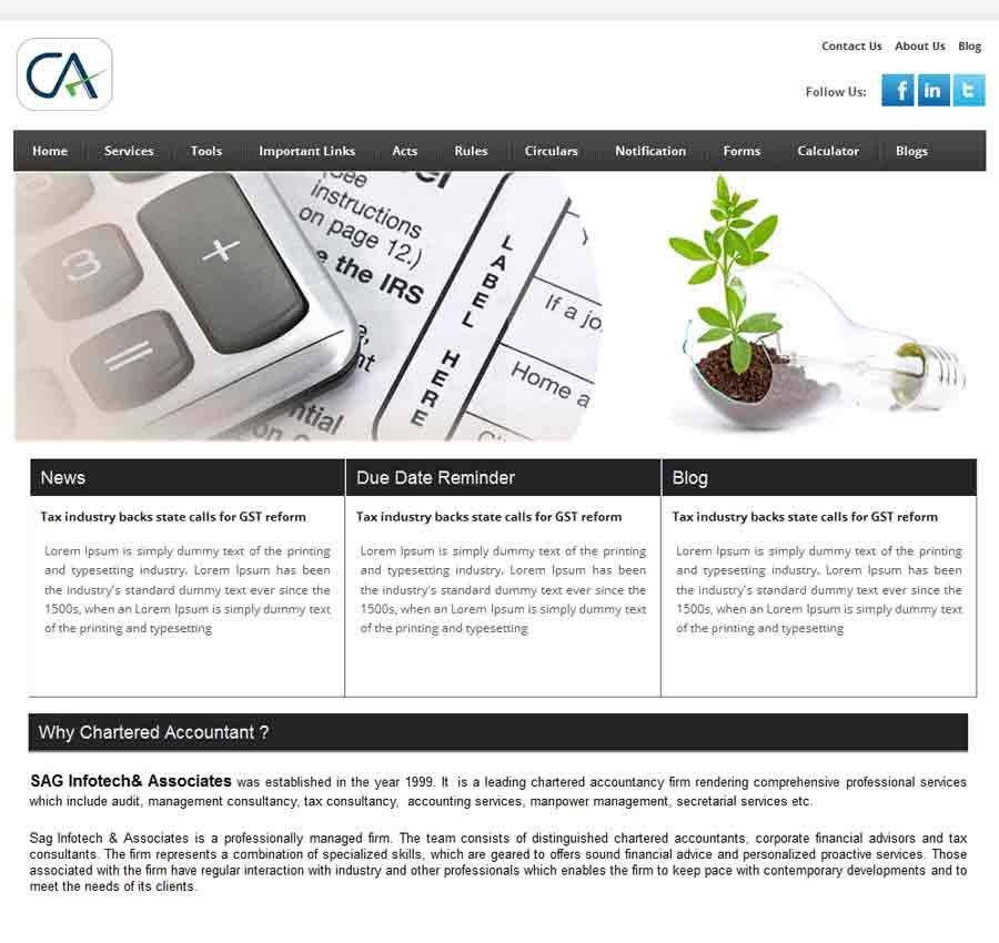 Chartered Accountant Theme56