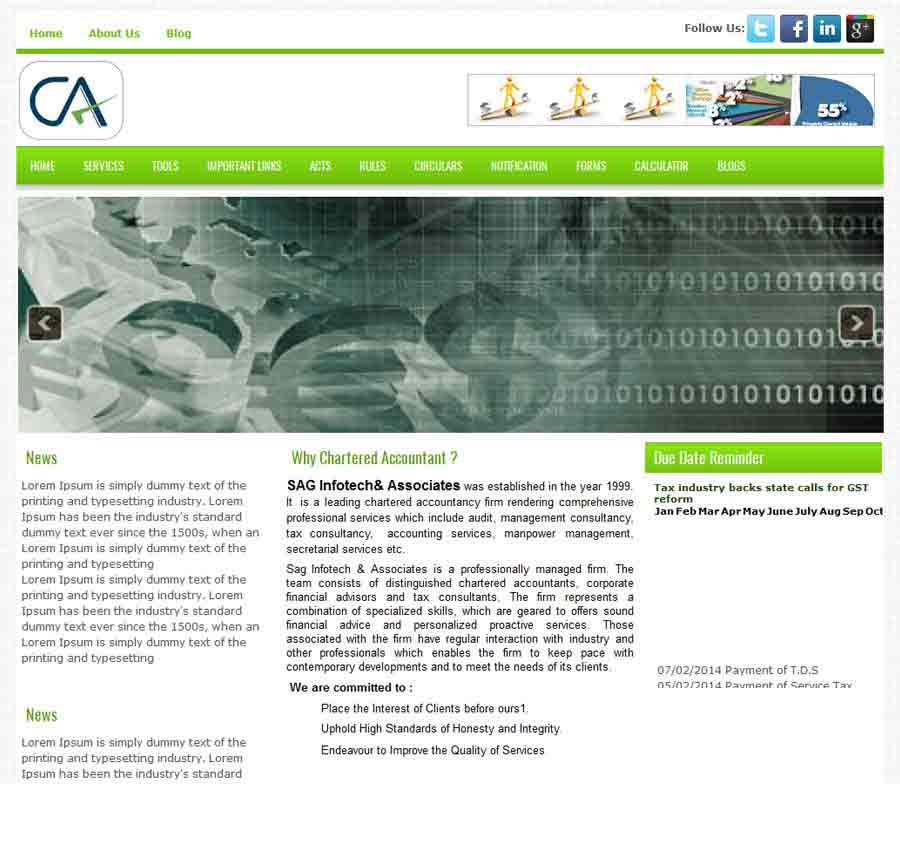 Chartered Accountant Theme54