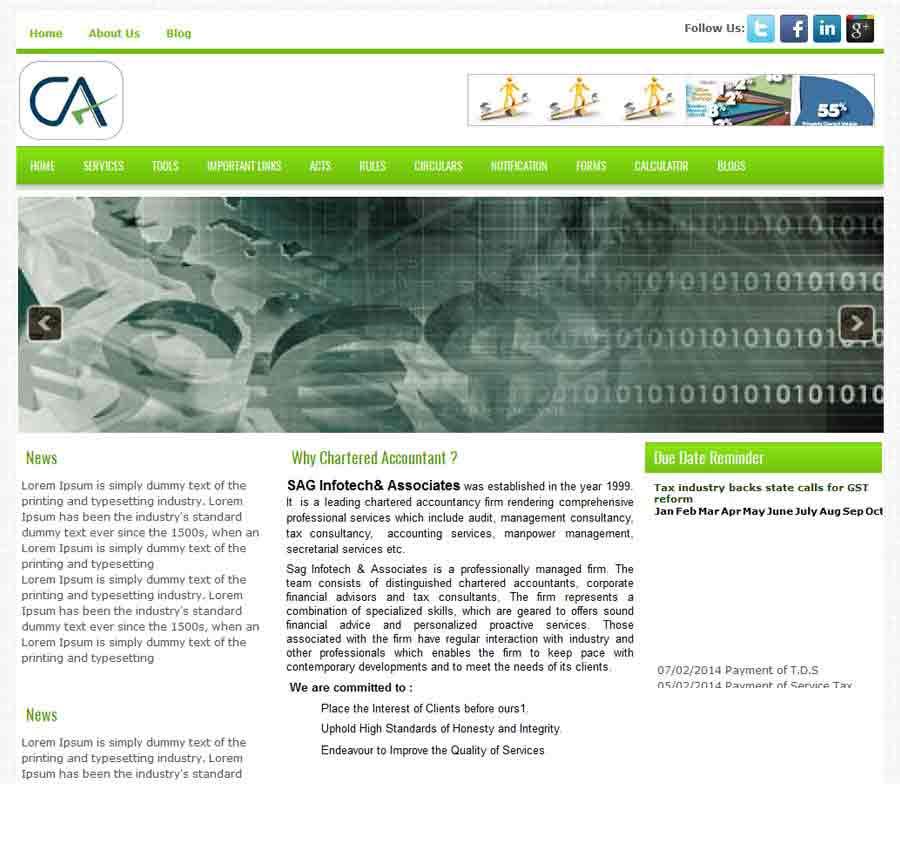Chartered Accountant Theme54