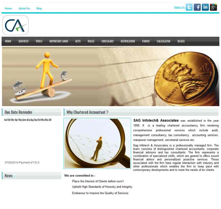 Chartered Accountant Theme55