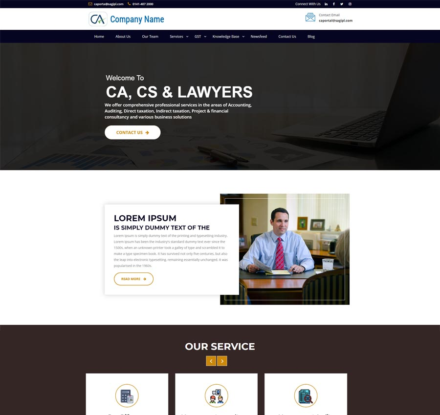 Chartered Accountant Theme4