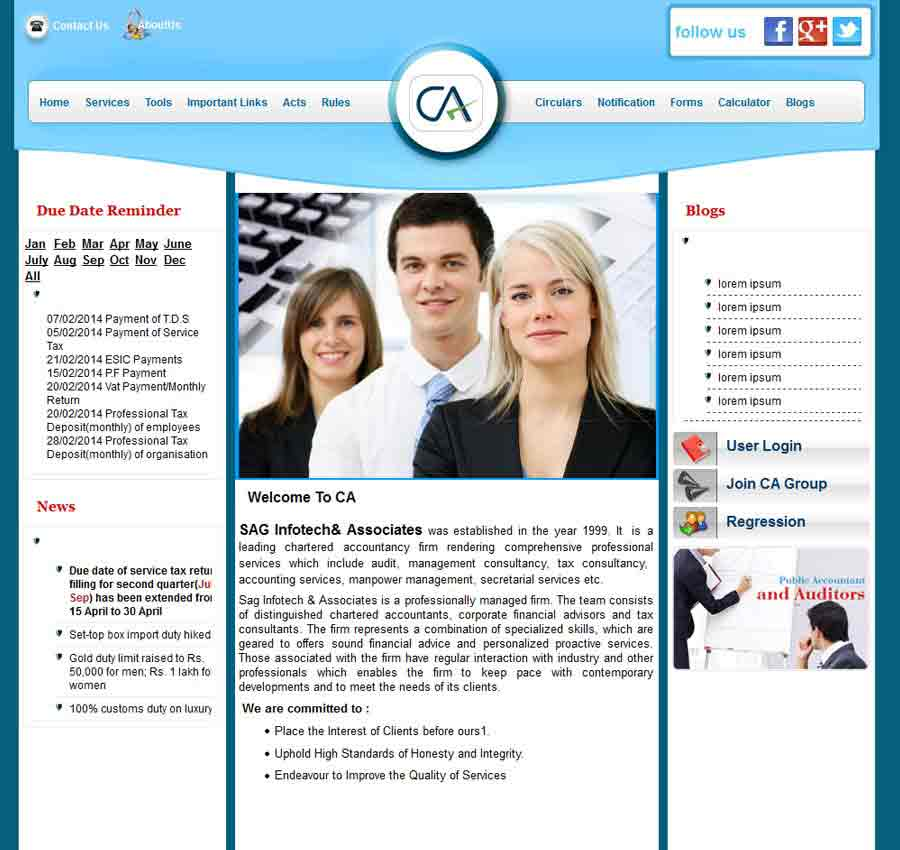 Chartered Accountant Theme9