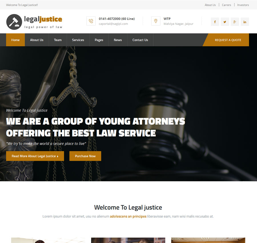 Lawyer Theme 1