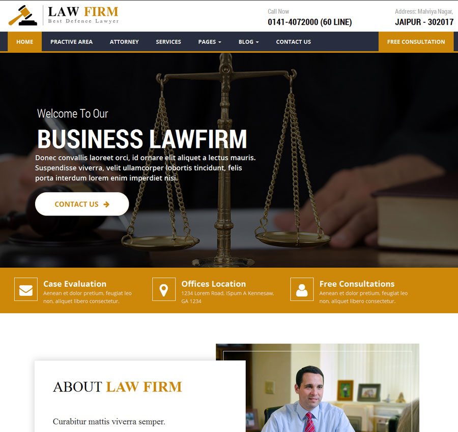 Lawyer Theme 3