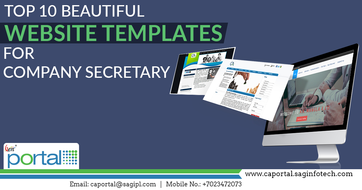 Top 10 Stunning Website Templates for Company Secretary