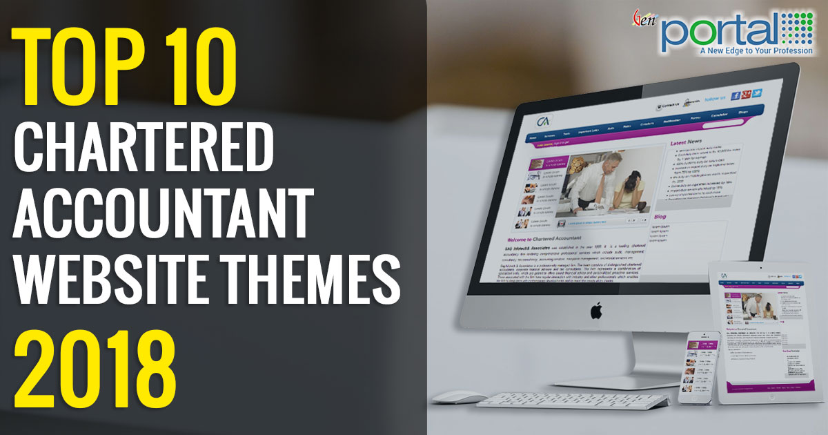 Top 10 Chartered Accountant Website Themes 2018