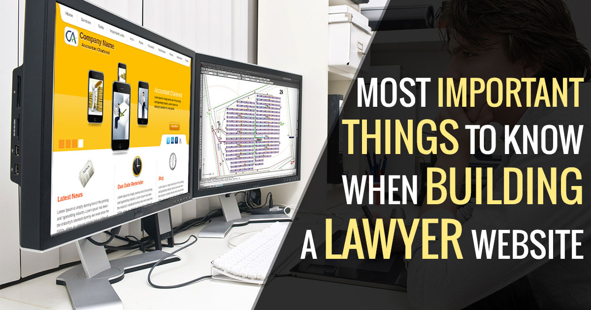 Designing Factors of Lawyer Website Theme