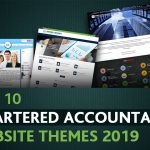Top Chartered Accountant Website Theme