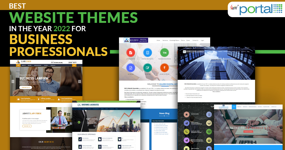 Best Website Themes In The Year 2018 For Business Professionals