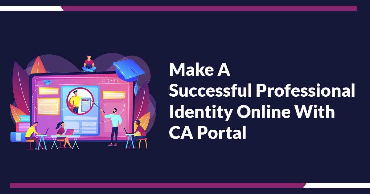 CA Portal Online Identity
