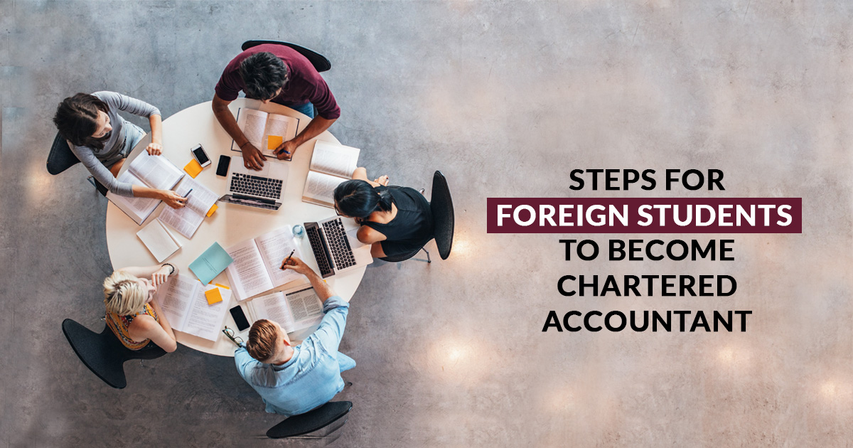 Foreign Chartered Accountant Students