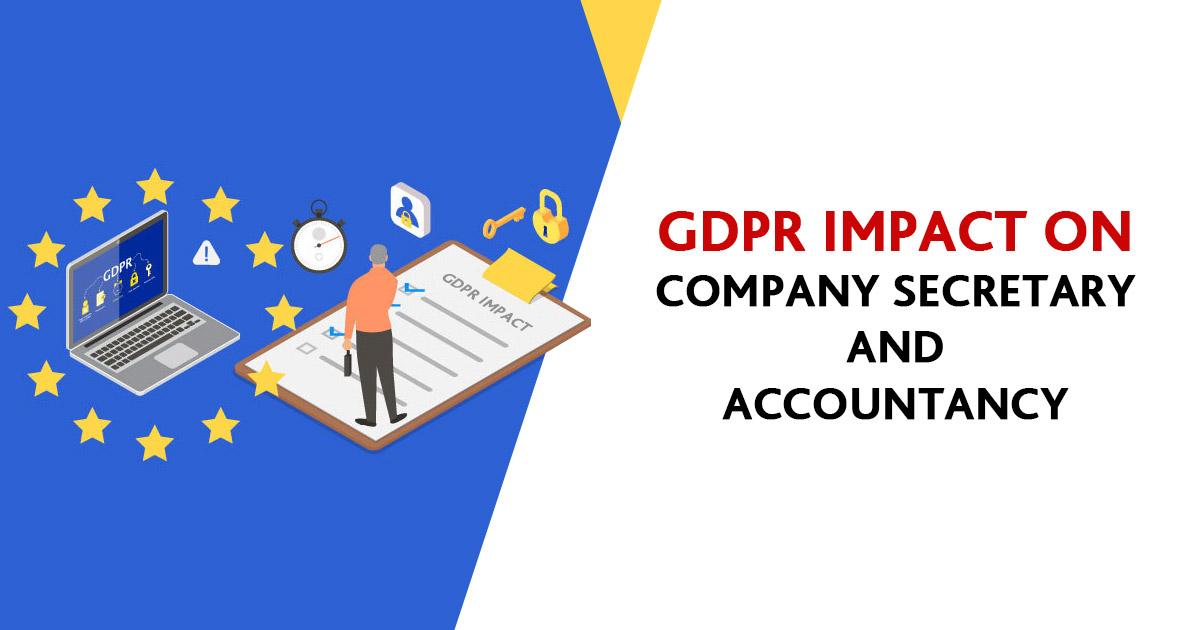 GDPR Impact on CS and Accountant