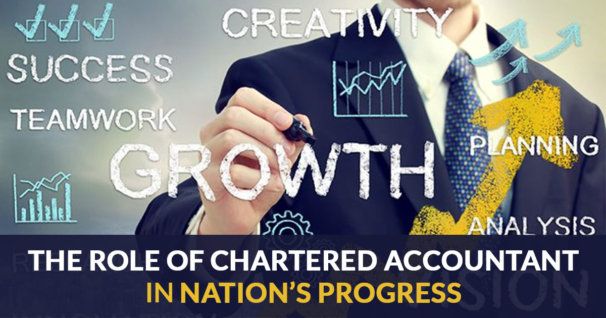 What is The Role of Chartered Accountant in Nation's Progress