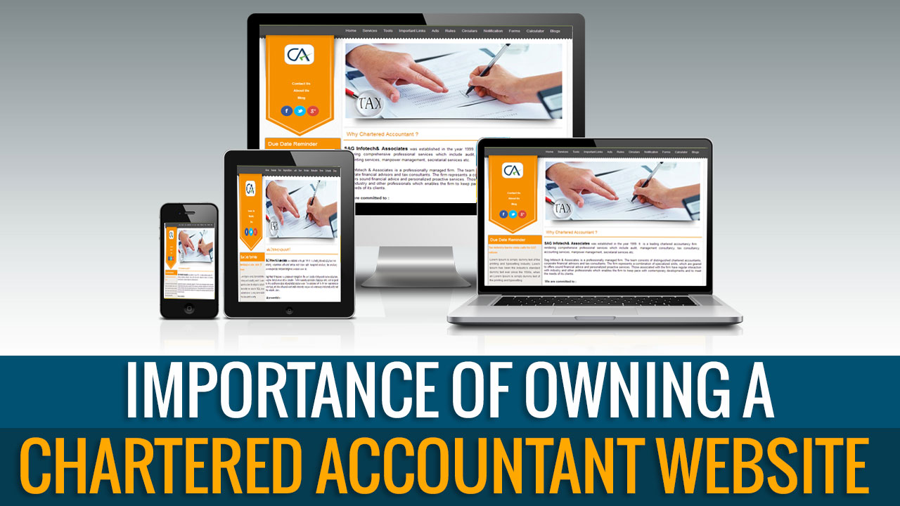 Importance of Owning A Chartered Accountant Website