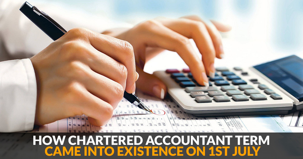 Chartered Accountant Term Existence