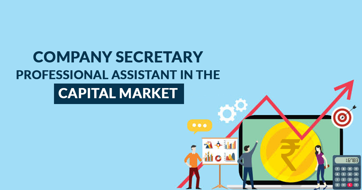 Company Secretary Professional Assistant in The Capital Market