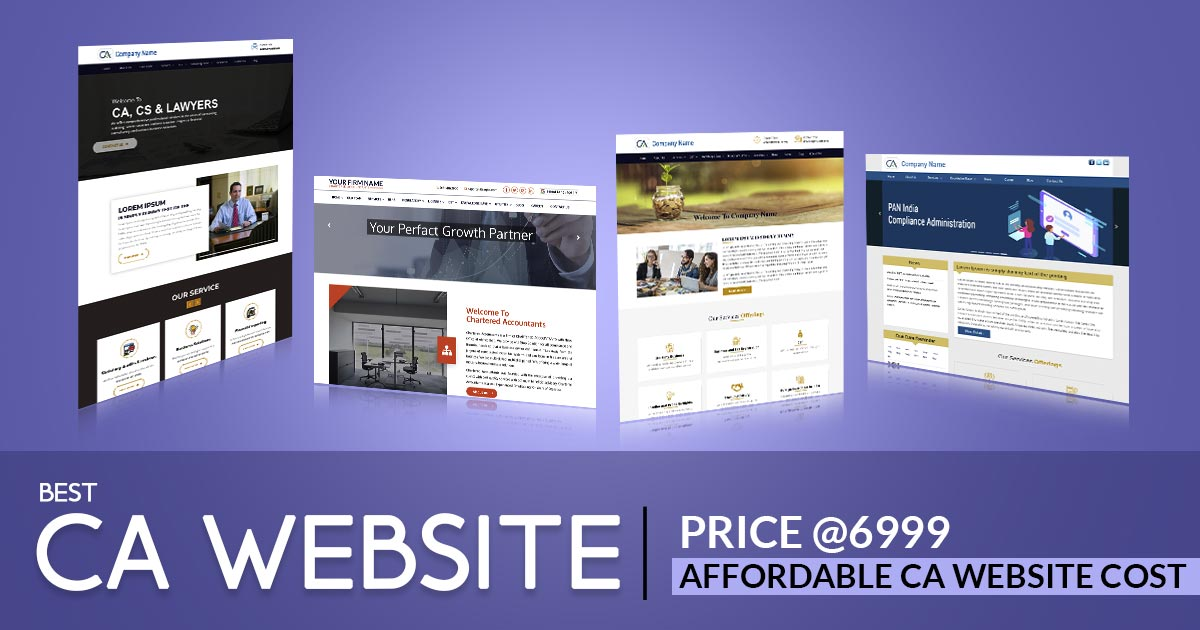 Close: Upto 30% Discount offer on professional CA, CS & Law Firm Website