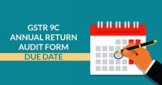 GSTR 9C Annual Return Audit Form Due Date for FY 2017-18