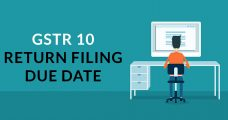 GSTR 10 Return Filing Due Date for Taxpayer
