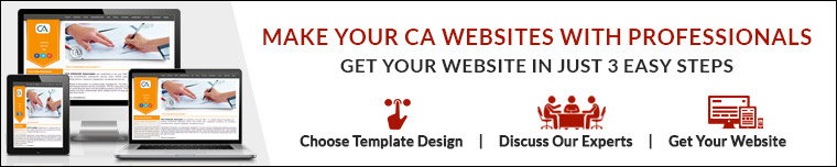 Make Professional CA Website