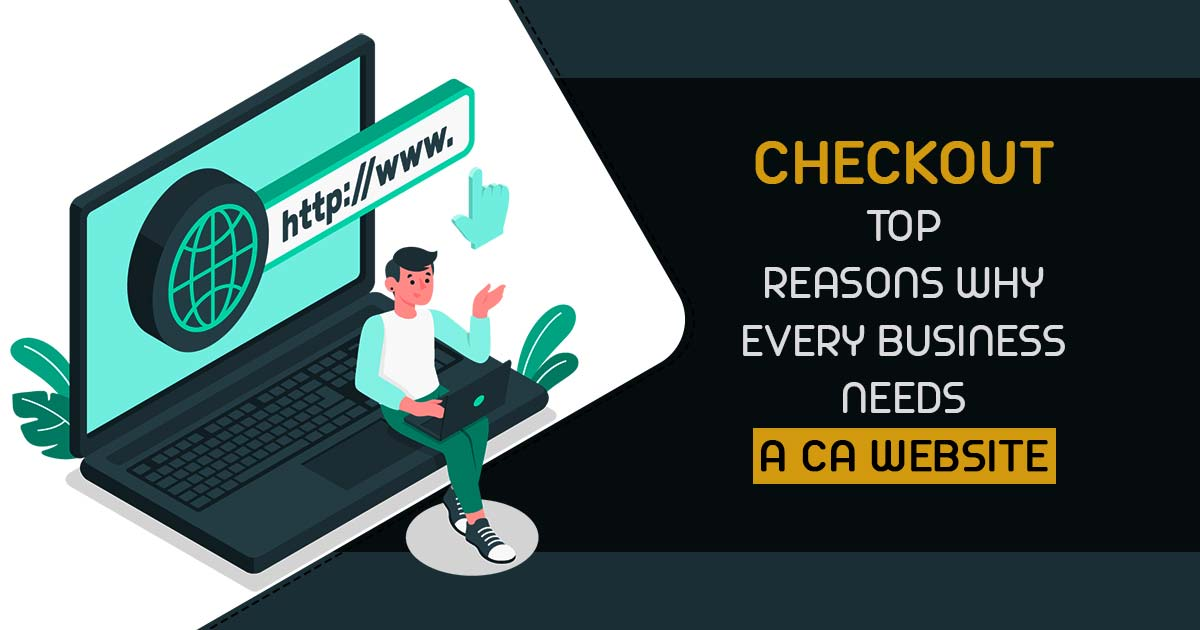 CA Professional Website
