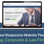 Responsive Website Themes for CA, CS & Lawyer