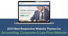 2019 Best Responsive Website Themes for Accounting, Corporate & Law Firm Website