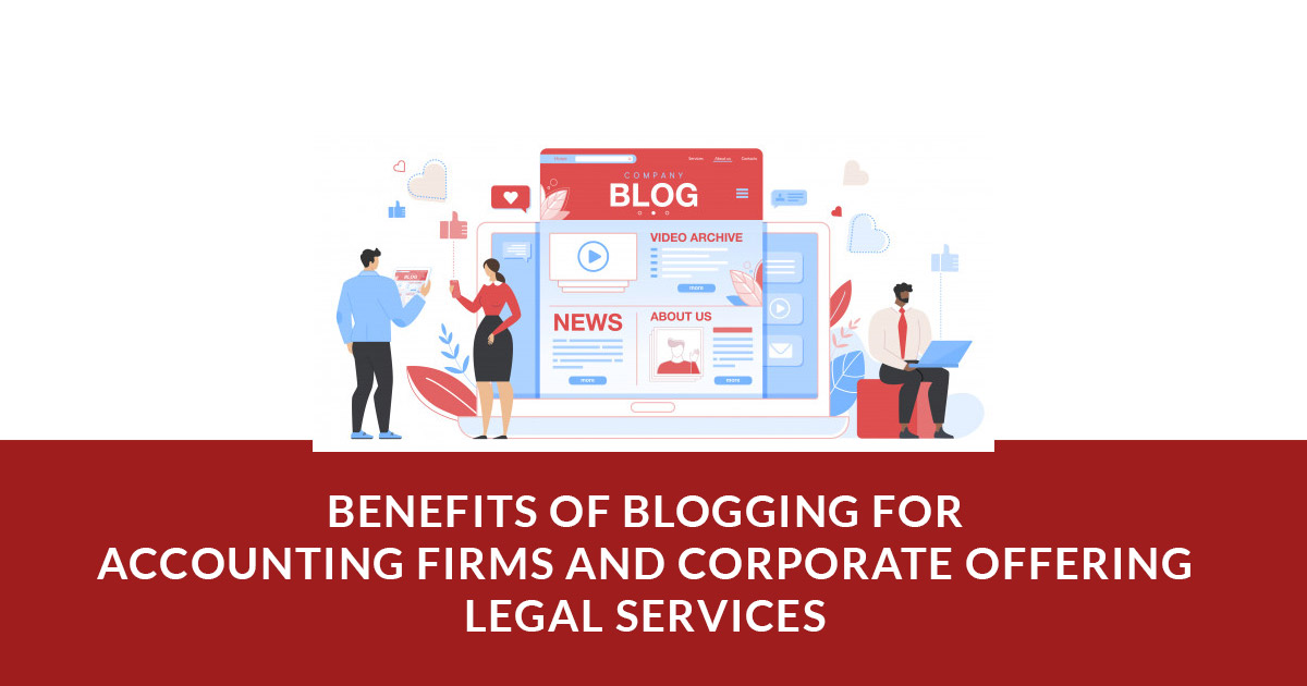 Blogging for Accounting and Legal Firm