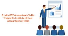 1 Lakh GST Accountants To Be Trained By Institute of Cost Accountants of India