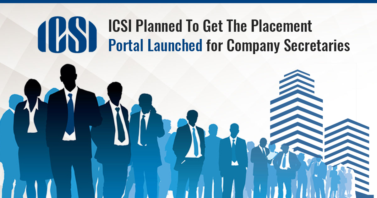 ICSI Company Secretary Placement Portal