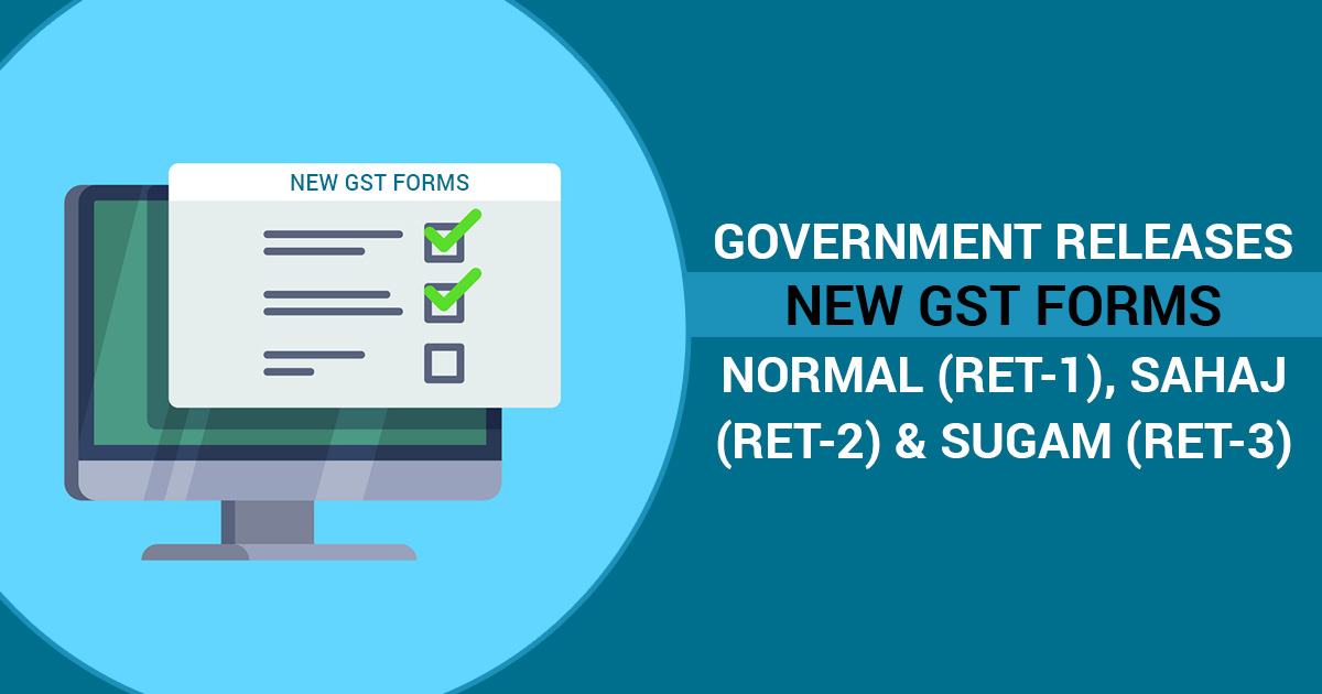 New GST Return Forms
