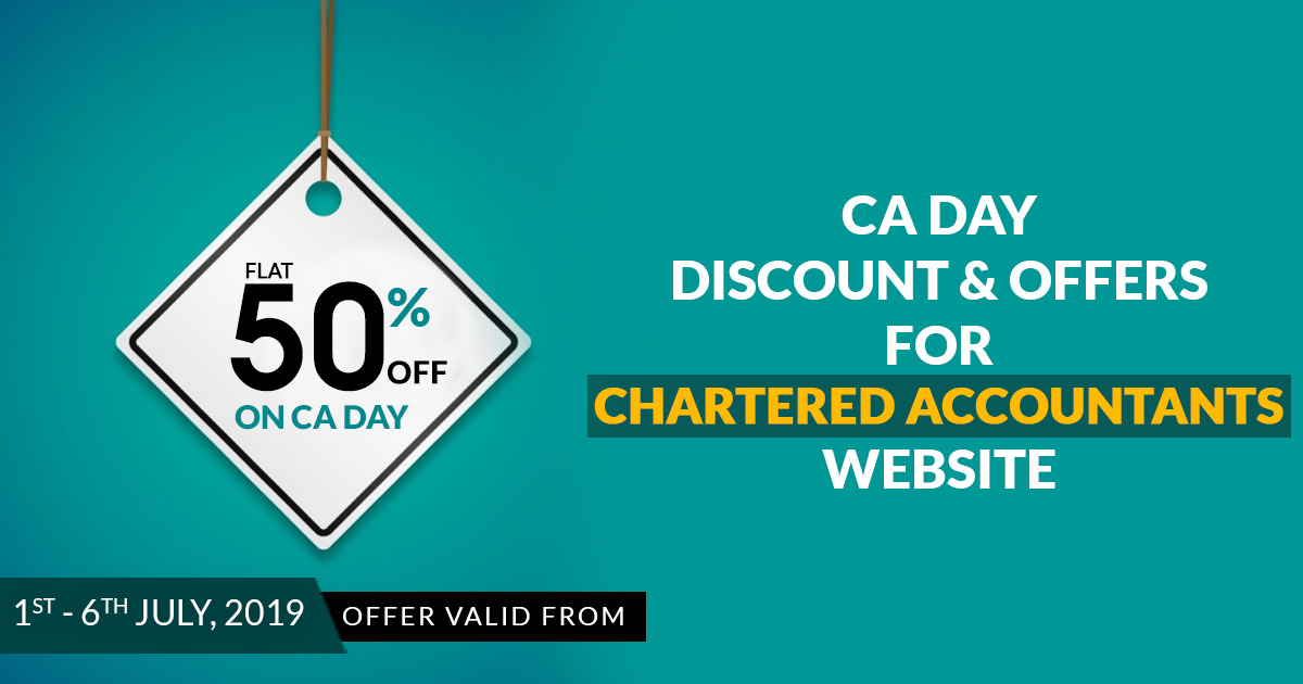 CA Portal Discount & Offers For New Chartered Accountants