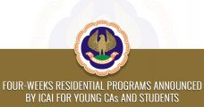Four-Weeks Residential Programs Announced by ICAI for Young CAs and Students