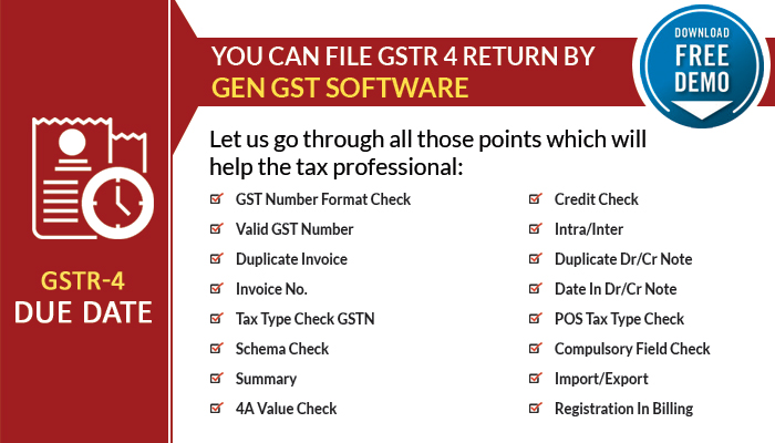 GEN GST Software