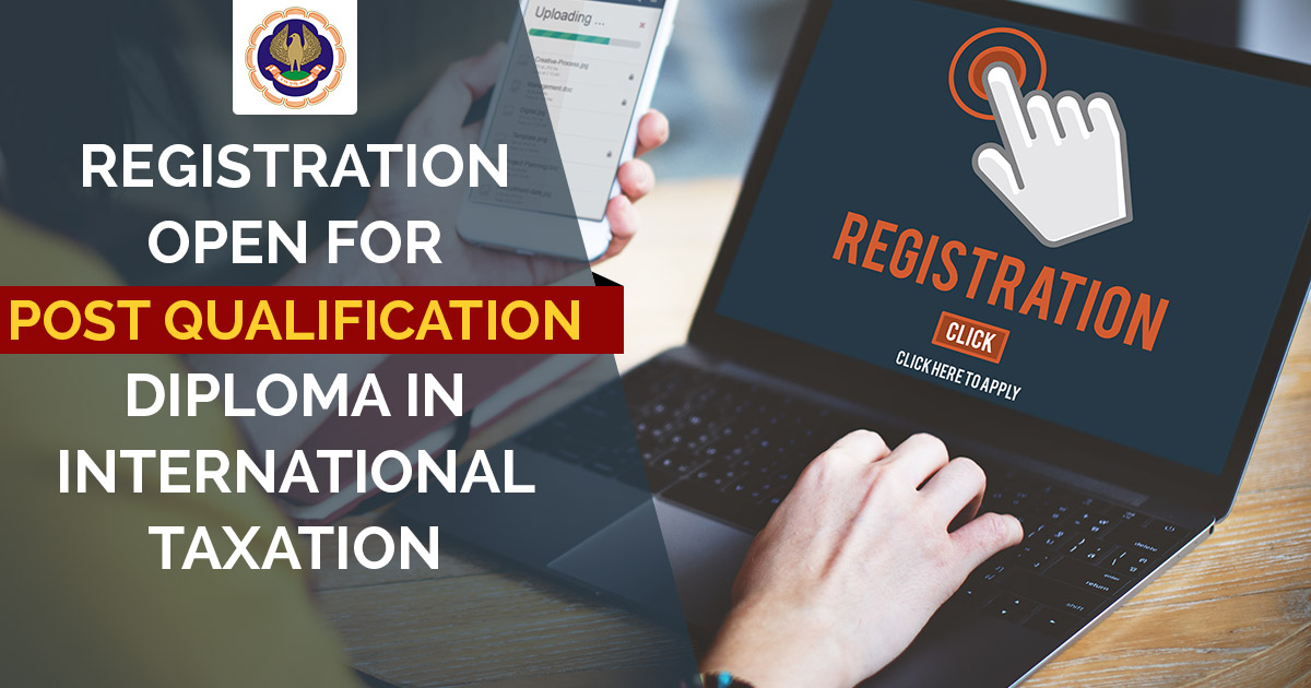 ICAI Post Qualification Diploma in International Taxation