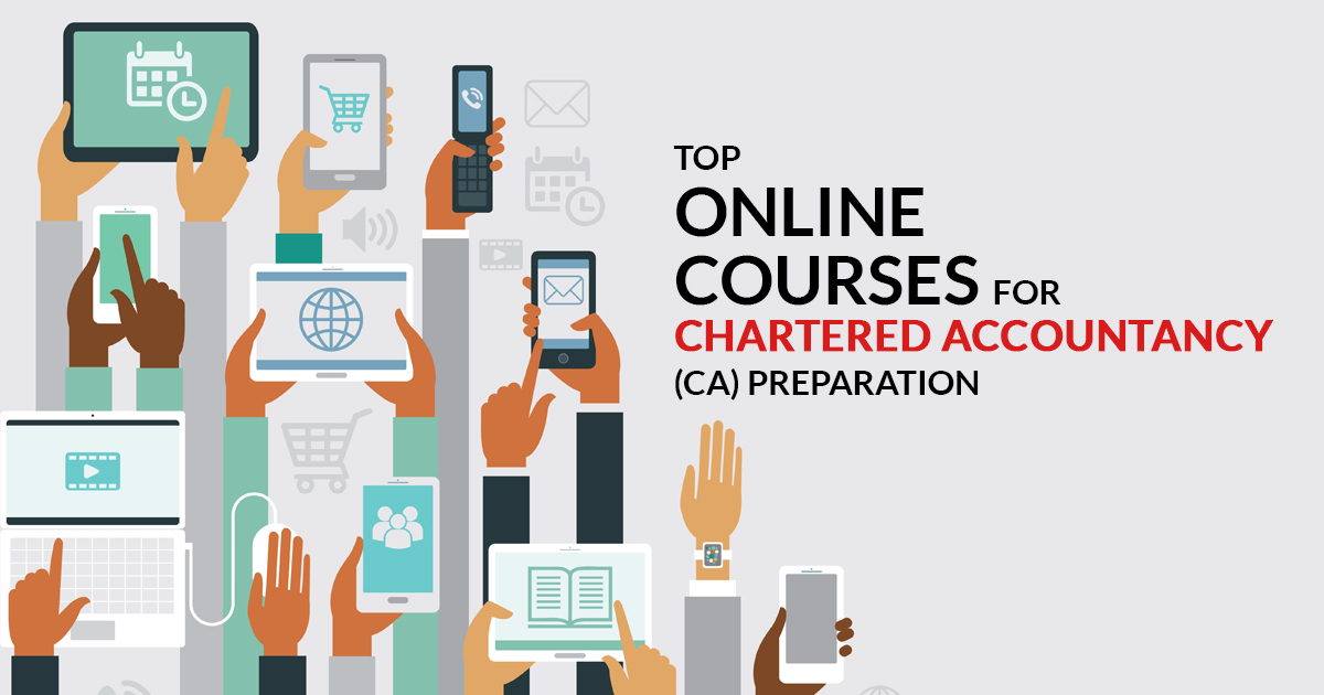 Chartered Accountant Online Courses List